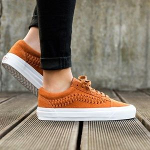 VANS Old Skool Weave Suede Grazed Ginger Kid's